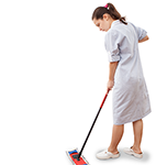 woman-cleaning